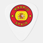 Madrid Spain Guitar Pick