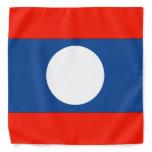 Laos Flag Bandana