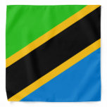 Tanzania Flag Bandana