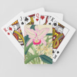 Asian Orchid Bicycle Playing Cards