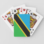 Flag of Tanzania Bicycle Playing Cards