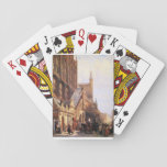 Cityhall in Lbeck by Cornelis Springer Bicycle Playing Cards