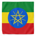 Ethiopia Flag Bandana