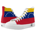 Venezuela Flag High-Top Sneakers