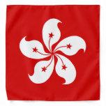 Hong Kong Flag Bandana