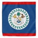 Belize Flag Bandana