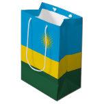 Rwanda Flag Medium Gift Bag