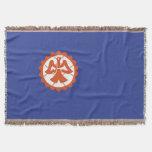 Suita city flag Osaka prefecture japan symbol Throw