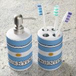 Argentina Soap Dispenser And Toothbrush Holder