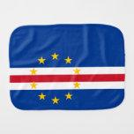 Cape Verde Flag Burp Cloth