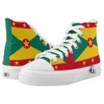 Grenadian coat of arms High-Top sneakers