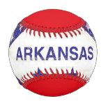 Arkansas grunge Flag Baseball