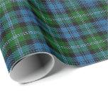 Clan Lyon Scottish Tartan Wrapping Paper