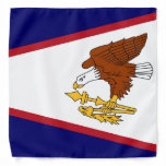 Patriotic bandana with Flag of American Samoa