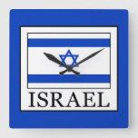Israel Square Wall Clock