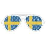 Swedish pride party shades | Flag of sweden