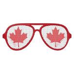 Flag of Canada Aviator Sunglasses