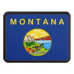 Montana State Flag Tow Hitch Cover