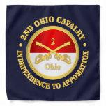 2nd Ohio Cavalry (rd) Bandana