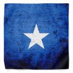 Black Grunge Somalia Flag Bandana