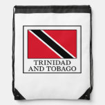 Trinidad and Tobago Drawstring Bag