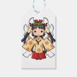 Miyako inThe sky English story Omiya Saitama Gift Tags
