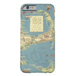 Vintage Map of Cape Cod (1940) Barely There iPhone 6 Case