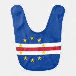 Cape Verde Flag Baby Bib