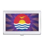 I-Kiribati Flag Souvenir Business Card Holder