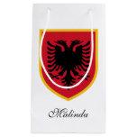 Albania Flag Small Gift Bag