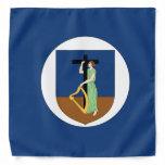 Montserrat Flag Bandana