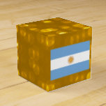 Official Argentinean Flag Favor Box