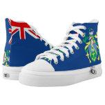 Pitcairn Islands Flag --.png High-Top Sneakers