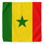 Senegal Flag Bandana
