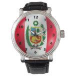 Peru Flag Watch