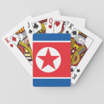 North Korean flag Playing Cards