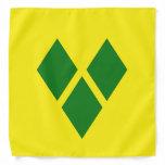 St. Vincent Flag Bandana