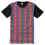 Mongolia Flag All-Over-Print T-Shirt