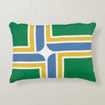 Flag of Portland, Oregon Decorative Pillow
