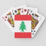 Lebanon Flag Playing Cards