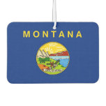 Car Air Fresheners with Flag of Montana, USA