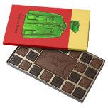 Mao Zedong Zhongshan suit 45 Piece Box Of Chocolates