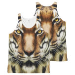 Tiger Head All-Over-Print Tank Top