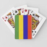 Mauritius Flag Bicycle Playing Cards