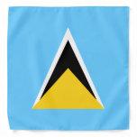 Saint Lucia Flag Bandana