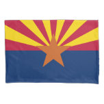 Patriotic State Flag of Arizona Pillow Case