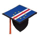 Cape Verde Flag Graduation Cap Topper