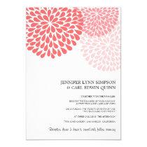 "Annalee (Pewter) Wedding Invitations 5"" X 7"" Invitation Card"