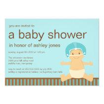 Football Baby Boy Baby Shower Invitation
