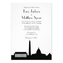 DC Skyline Wedding Invitation